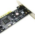 4 Port SATA RAID to PCI Card Adapter Converter Silicon Image Sil3114 Chipset de la marque XRP image 1 produit