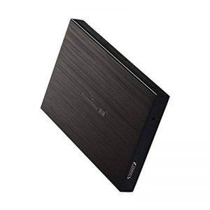 6,3 cm Blueendless 500Go disque dur externe portable USB2.0 disque dur pour PC de bureau pour ordinateur portable 500 Go Noir de la marque Blueendless image 0 produit