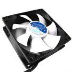 AAB Cooling Super Silent Fan 8 PWM- Ventilateur silencieux et puissant de 80mm avec 4 tampons anti-vibration - idéal pour refroidir le processeur de la marque AAB Cooling image 3 produit
