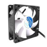 AAB Cooling Super Silent Fan 8 PWM- Ventilateur silencieux et puissant de 80mm avec 4 tampons anti-vibration - idéal pour refroidir le processeur de la marque AAB Cooling image 1 produit