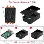 ABOX Raspberry Pi 3 Modèle B Plus (3 B+) Starter Kit【2018 Version Dernière】 32 Go Classe 10 SanDisk Micro SD Carte, 5V 2.5A Alimentation avec Interrupteur Marche/Arrêt Boîtier Noir de la marque ABOX image 4 produit