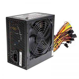 Alimentation PSU 500W ATX PC Avec ventilateur silencieux de 12cm et SATA / 24broches / 4broches / Molex de la marque Other image 0 produit