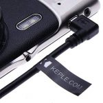 Angle Droit Mini USB Câble par Keple | USB A vers Mini USB Chargeur Cordon pour Garmin Nuvi 200 / 200W / 205 / 205W / 250 / 250W / 255 / 255W / 260 / 260W de la marque Keple image 1 produit