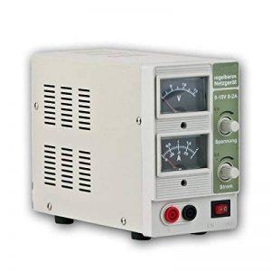 """Appareil d'alimentation de laboratoire réglable «cTL - 1502/0-2A 0-15 v """" de la marque Chilitec image 0 produit"""