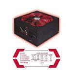 Approx Gaming APP800PSV2 Source d'alimentation 800W Noir/Rouge de la marque Approx image 2 produit