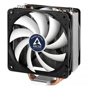 Arctic Freezer 33 Plus - Ventilateur processeur I Refroidisseur de processeur I Radiateur multicompatible pour processeur jusqu'à 200W TDP Intel e AMD I Installation Facile - Silencieux de la marque ARCTIC image 0 produit