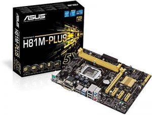 Asus H81M-PLUS Carte mère Intel Micro ATX Socket 1150 de la marque Asus image 0 produit
