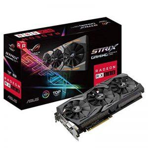 Asus ROG-STRIX-RX580-T8G-GAMING Carte Graphique AMD Radeon RX 580 HDMI de la marque Asus image 0 produit