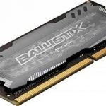 Ballistix Sport LT BLS16G4S240FSD 16Go (DDR4, 2400 MT/s, PC4-19200, DR x8, SODIMM, 260-Pin) Mémoire -Gris de la marque Ballistix image 2 produit