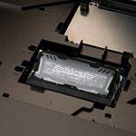 Ballistix Sport LT BLS16G4S240FSD 16Go (DDR4, 2400 MT/s, PC4-19200, DR x8, SODIMM, 260-Pin) Mémoire -Gris de la marque Ballistix image 3 produit