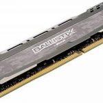 Ballistix Sport LT BLS4G4D240FSB 4Go (DDR4, 2400 MT/s, PC4-19200, SR x8, DIMM, 288-Pin) Mémoire - Gris de la marque Ballistix image 3 produit