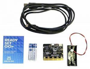 BBC Micro: Bit Kit Composants PC avec câble USB A vers Micro B–Noir de la marque BBC micro:bit image 0 produit
