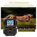 Caméra de chasse, 2018 New Mini étanche HD Wildlife Trail caméra, 5 méga pixels caméra numérique infrarouge caché Sports motion caméra H501 de la marque Greencolorful image 1 produit