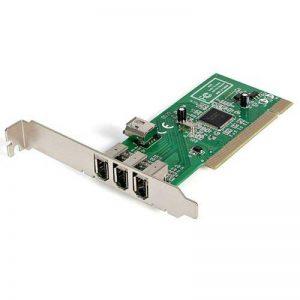 Carte Adaptateur PCI vers 4 Ports FireWire400 6 Broches- 1x Firewire 400 Interne - 3x FireWire 400 Externe de la marque StarTech.com image 0 produit