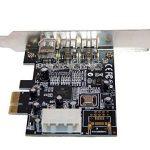 Carte Controleur PCI Express 1x FIREWIRE 800 et 400, 1 port IEEE1394A et 2 ports IEEE1394B - Chipset TI TEXAS INSTRUMENTS par Computer District. de la marque Computer District image 3 produit