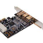 Carte Controleur PCI Express 1x FIREWIRE 800 et 400, 1 port IEEE1394A et 2 ports IEEE1394B - Chipset TI TEXAS INSTRUMENTS par Computer District. de la marque Computer District image 4 produit