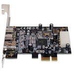 Carte Controleur PCI Express 1x FIREWIRE 800 et 400, 1 port IEEE1394A et 2 ports IEEE1394B - Chipset TI TEXAS INSTRUMENTS par Computer District. de la marque Computer District image 2 produit