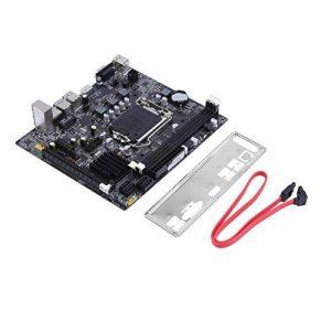 Carte mère, VGA Sortie d'affichage intégré Carte Graphique Intel B75 DDR3 DIMM Mainboard LGA1155 Double Canal mémoire, pour Ordinateur de Bureau Accessoires de la marque Bellaluee image 0 produit