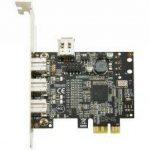 Carte PCI-Express firewire 800 3port 1394b + 1x1394a interne de la marque Dexlan image 2 produit