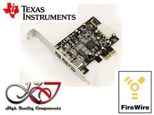 carte pci firewire texas instrument TOP 3 image 0 produit