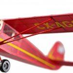 Cessna bande 140 en caoutchouc alimenté Kit bois de balsa Aircraft de la marque Thorness image 3 produit