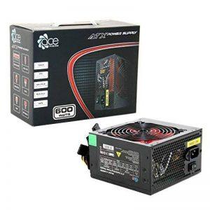 Changer de Source D'alimentation PSU 600W ATX avec Ventilateur Rouge Silencieux de 12 cm / Pour Ordinateur PC / iCHOOSE de la marque iChoose Limited image 0 produit