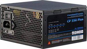 Combat Power CP 550W plus ATX Bloc d'alimentation 550W Eff. 82+ de la marque Combat Power image 0 produit