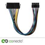 conecto cc20015Adaptateur d'alimentation ATX Alimentation pour Lenovo Medion 14Broches Carte mère Noir de la marque conecto image 2 produit