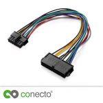 conecto cc20015Adaptateur d'alimentation ATX Alimentation pour Lenovo Medion 14Broches Carte mère Noir de la marque conecto image 3 produit