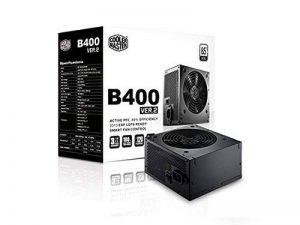 Cooler Master B400 ver 2 Alimentation PC 'Non-modulaire, 80 Plus White, 400W' RS400-ACABB1-EU de la marque Cooler Master image 0 produit