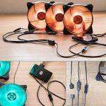 Cooler Master MasterAccessory RGB Fan Controller Accessoire de Boîtier '16,7 Millions de Couleurs, 4 canaux de Sortie, Frequency Mode' MFY-RCSN-NNUDK-R1 de la marque Cooler Master image 1 produit