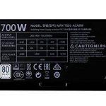 Cooler Master MasterWatt Lite 700 230V Alimentation PC 'Non-modulaire, 80 Plus White, 700W' MPX-7001-ACABW-EU de la marque Cooler Master image 2 produit