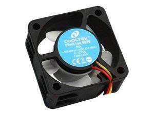 Cooltek Silent Fan 4020 Boitier PC Ventilateur - Ventilateurs, refoidisseurs et radiateurs (Boitier PC, Ventilateur, 4 cm, 4000 tr/min, 13,5 dB, 11,5 m³/h) de la marque Cooltek image 0 produit