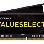 Corsair CMSO8GX4M1A2133C15 Value Select 8GB (1x8GB) DDR4 2133Mhz CL15, Noir de la marque Corsair image 2 produit