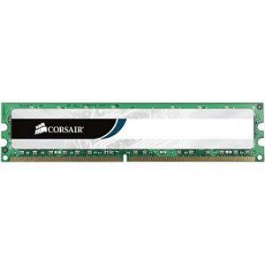 Corsair CMV4GX3M1A1333C9 Value Select 4GB (1x4GB) DDR3 1333 Mhz CL9 Mémoire pour ordinateur de bureau de la marque Corsair image 0 produit