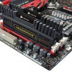 Corsair CMZ8GX3M2A1600C9 Vengeance 8GB (2x4GB) DDR3 1600 Mhz CL9 Mémoire pour ordinateur de bureau performante avec profil XMP. Noir de la marque Corsair image 1 produit