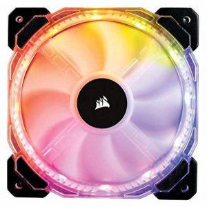 Corsair HD120 RGB LED 120mm PWM Ventilateur de Boitier (Single Pack) de la marque Corsair image 0 produit