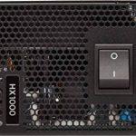 Corsair HX1000 Alimentation PC (Modulaire Complet, 80 PLUS Platinum, 1000 Watt, EU) de la marque Corsair image 1 produit
