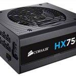 Corsair HX750i Alimentation PC (Modulaire Complet, 80 PLUS Platinum, 750 Watt, EU) de la marque Corsair image 1 produit