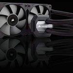 Corsair Hydro H100i v2 Refroidisseur Liquide (Deux SP120 PWM Ventilateur, All-in-One Liquid CPU Cooler) Noir de la marque Corsair image 1 produit