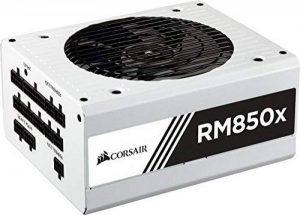 Corsair RM850x Alimentation PC (Modulaire Complet, 850 Watt, 80 PLUS Gold) Blanc de la marque Corsair image 0 produit