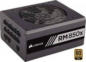 Corsair RM850x Alimentation PC (Modulaire Complet, 850 Watt, 80 PLUS Gold) Noir de la marque Corsair image 0 produit