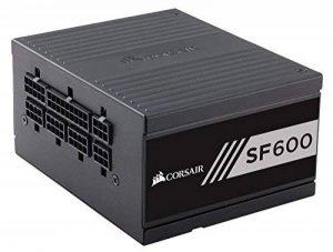 Corsair SF600 Alimentation PC (Modulaire Complet, 80 PLUS Gold, 600 Watt, EU) de la marque Corsair image 0 produit
