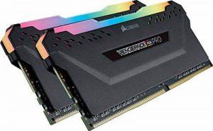 Corsair Vengeance RGB PRO - Kit de Mémorie Enthousiaste (16Go (2x8Go), DDR4, 3200MHz, C16, XMP 2.0) - Noir de la marque Corsair image 0 produit