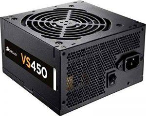 Corsair VS450 Alimentation PC (80 PLUS, 450 Watt, EU) de la marque Corsair image 0 produit