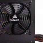 Corsair VS550 Alimentation (550 watts, Active PFC, certifiée 80 PLUS White) Noir de la marque Corsair image 1 produit
