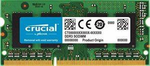 Crucial CT2C4G3S186DJM 8Go Kit (4Gox2) (DDR3L, 1866 MT/s, PC3-14900, SODIMM, 204-Pin) Mémoire pour Mac de la marque Crucial image 0 produit