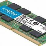 Crucial CT2K4G4SFS824A 8Go Kit (4Gox2) (DDR4, 2400 MT/s, PC4-19200, SR x8, SODIMM, 260-Pin) Mémoire de la marque Crucial image 1 produit