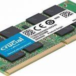 Crucial CT2K8G4SFS824A 16Go Kit (8Gox2) (DDR4, 2400 MT/s, PC4-19200, SR x8, SODIMM, 260-Pin) Mémoire de la marque Crucial image 2 produit