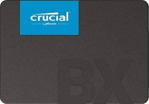 Crucial CT480BX500SSD1 SSD Interne BX500 (480Go, 3D NAND, SATA, 2,5 Pouces) de la marque Crucial image 0 produit